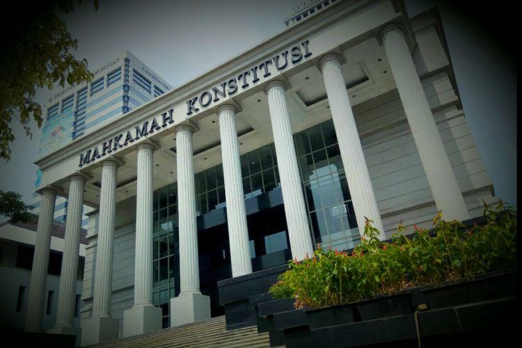 Gedung Mahkamah Konstitusi, Jakarta Pusat. Gambar diambil pada Selasa (10/10/2017).