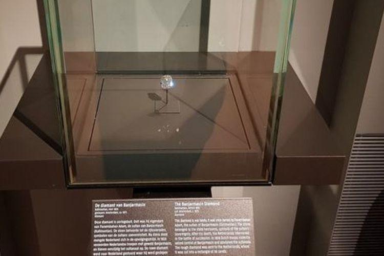 Berlian Banjarmasin: Jarahan perang, milik Sultan Banjarmasin.