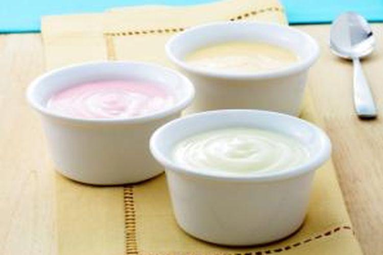 Ilustrasi yogurt.