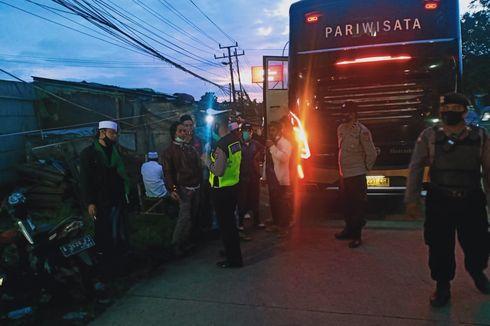 Fakta Bus Simpatisan FPI di Serang Diminta Putar Balik, Hendak ke Jakarta, Bawa 50 Orang