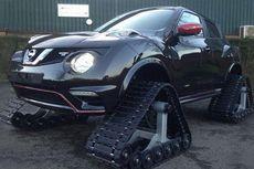 Sangar, Nissan Juke Nismo RS Pakai Roda Tank