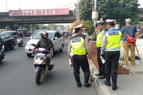 Memasuki Pekan ke-3, Tak Ada Polisi Berjaga di Kawasan Ganjil-Genap Fatmawati