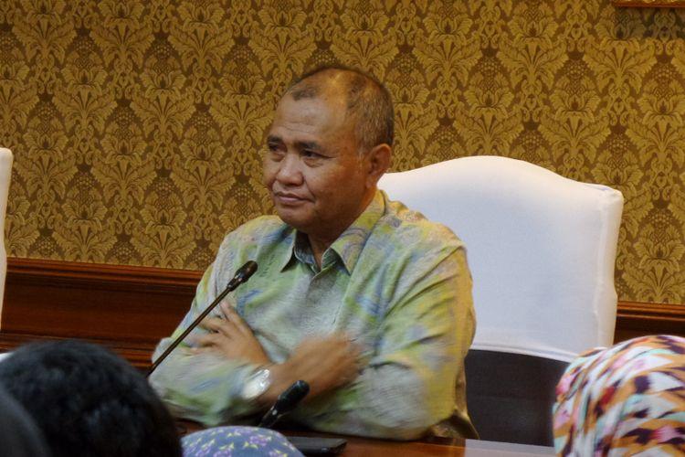 Ketua KPK Agus Rahardjo di Gedung Kementerian PAN RB Jakarta, Jumat (9/2/2017).