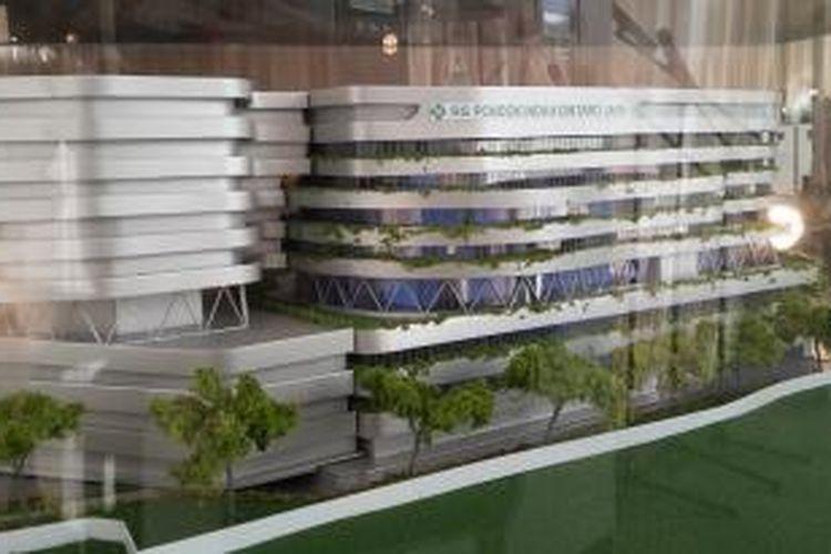 Desain Rumah Sakit Pondok Indah-Bintaro Jaya