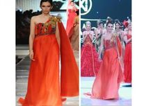Miss Cyprus Mengaku Nyaman Mengenakan Gaun Malik Moestaram