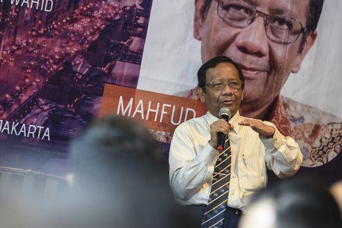 Mahfud MD Sarankan Pemerintah dan Lembaga Legislatif Baru Ubah UU Pemilu di Tahun Pertama