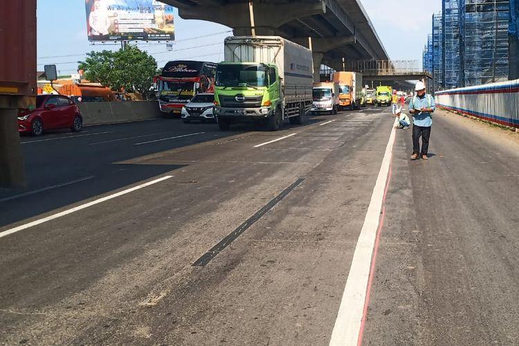 Jasa Marga kembali lakukan pengerjaan di ruas Tol Jakarta-Cikampek