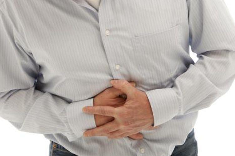 Ilustrasi sakit perut.