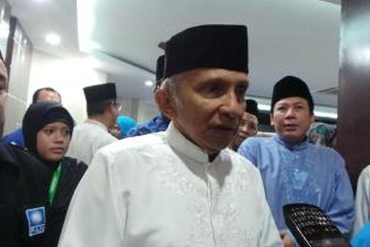 Ketua Majelis Pertimbangan Partai Amanat Nasional (PAN) Amien Rais