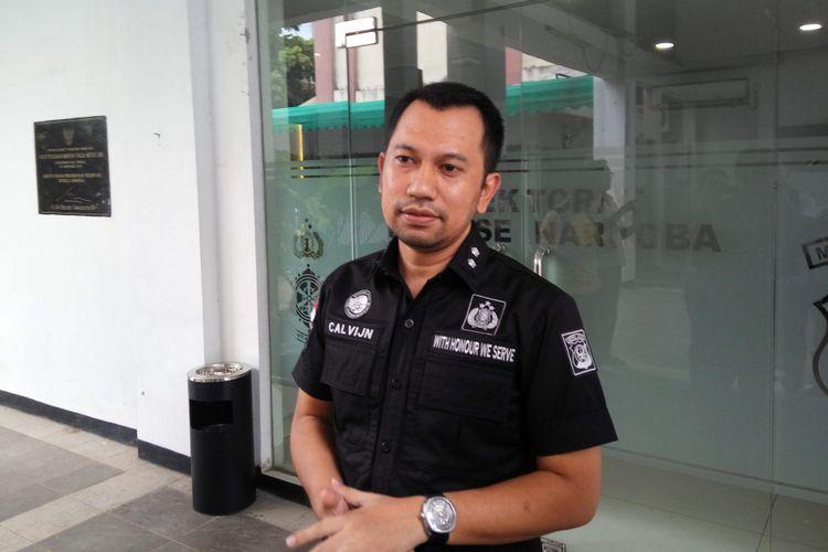 Kasubdit I Narkoba Polda Metro Jaya AKBP Jean Calvijn Simanjuntak