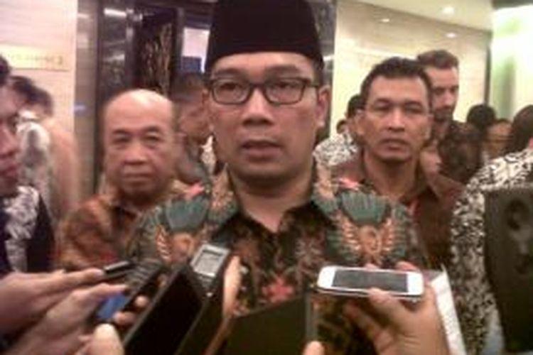 Wali Kota Bandung Ridwan Kamil saat ditemui usai menghadiri munas Kadin di The Trans Luxury Hotel, Bandung, Senin (24/11/2015)