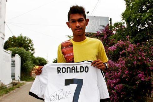 Kalimat Terakhir Martunis Sebelum Melepas Jersey Cristiano Ronaldo...