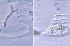 Danau Berukuran Masif di Antartika Mendadak Menghilang