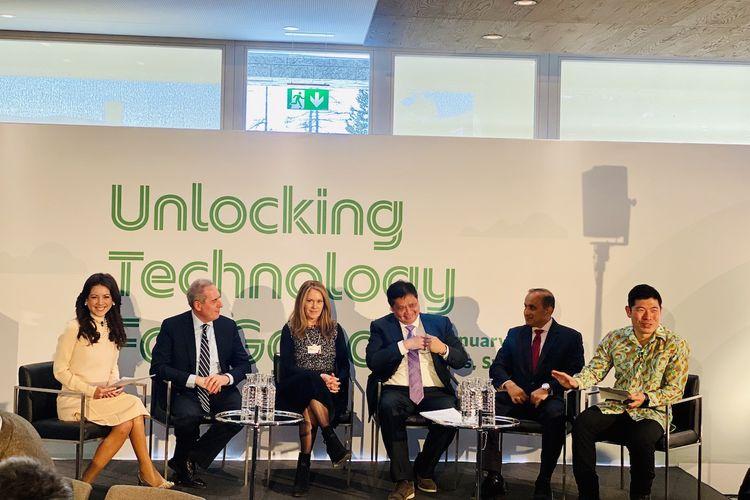 Di World Economic Forum, Grab Bahas Pedoman Baru untuk Industri Teknologi