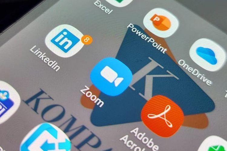 Logo aplikasi Zoom