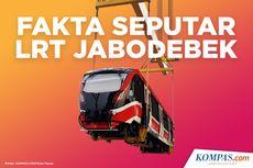 INFOGRAFIK: Fakta Seputar LRT Jabodebek yang Beroperasi 2021