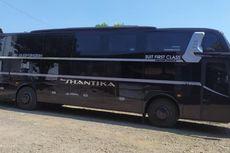 Dream Coach PO New Shantika, Bus Rasa Hotel Berjalan