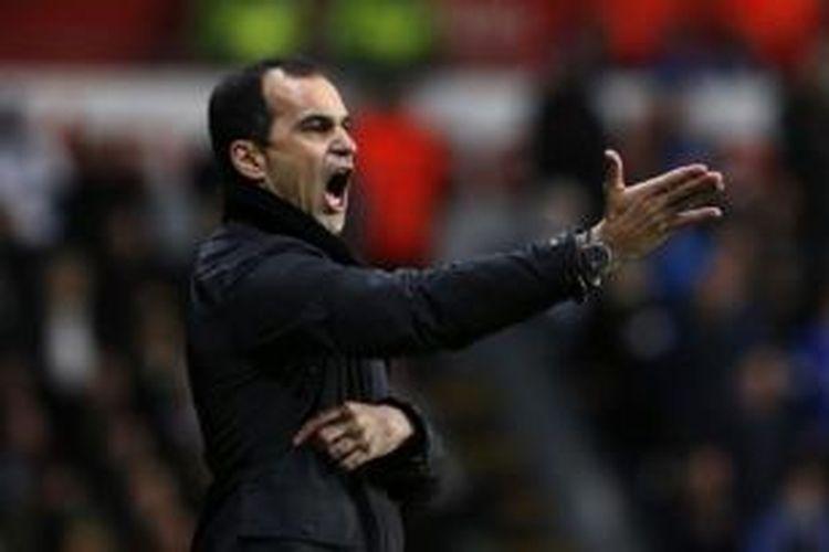 Manajer Everton, Roberto Martinez.