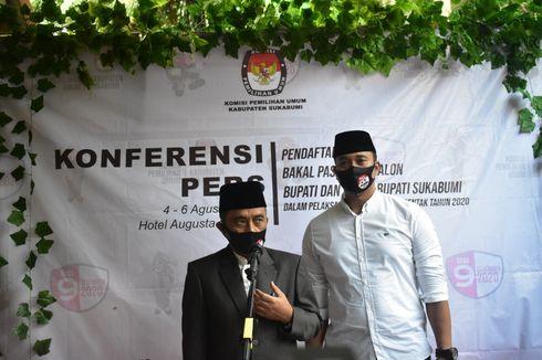 Maju Pilkada Sukabumi, Pasangan Abu Bakar-Sirojudin Daftar ke KPU Bermodal 16 Kursi