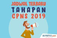 INFOGRAFIK: Jadwal Terbaru Tahapan CPNS 2019