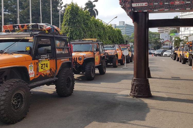 Komunitas Indonesia Offroad Expedition (IOX) siap untuk menjalani petualangan bertajuk IOX 2019 Andalas. Seluruh kendaraan pun sudah tiba di Medan, Sumatra Utara pada Jumat (8/2/2019) kemarin.