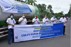 Pupuk Indonesia Kirim 96,7 Ton Tabung Oksigen untuk Penanganan Pasien Covid-19
