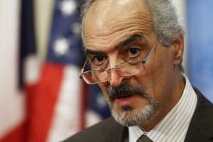 Duta besar Suriah untuk PBB, Bashar Jaafari.