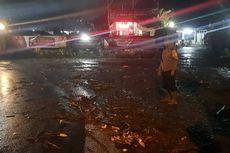 Hujan Deras di Kawasan Puncak Bogor, Depan Mapolsek Megamendung Sempat Terendam