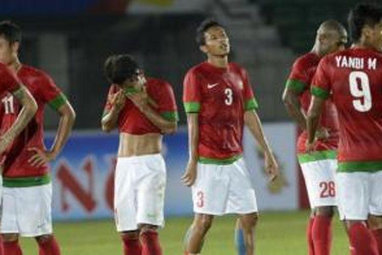 Timnas U-23 Indonesia gagal mempersembahkan medali emas SEA Games XXVII/2013 di Naypyidaw.