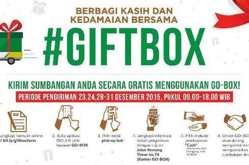 Go-Jek Rayakan Natal dengan Ajak Pelanggan Donasi Buku dan Baju