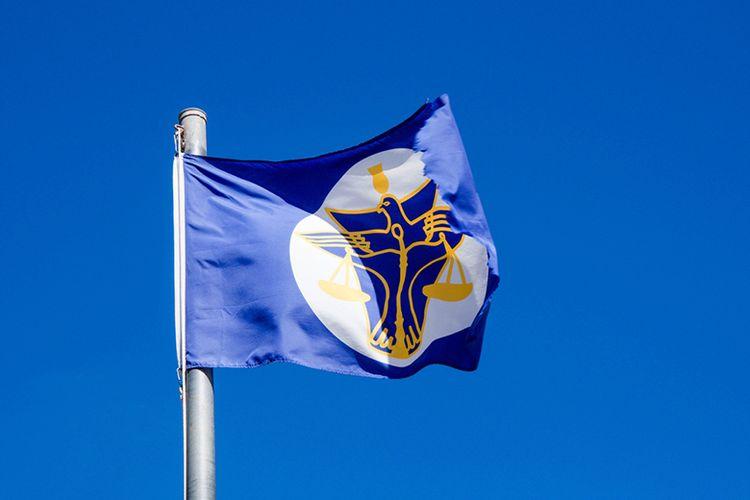 Bendera Kerajaan Hutt River, Australia Barat.