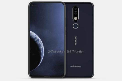 Inikah Tampang Nokia 8.1 Plus dengan Kamera di Dalam Layar?