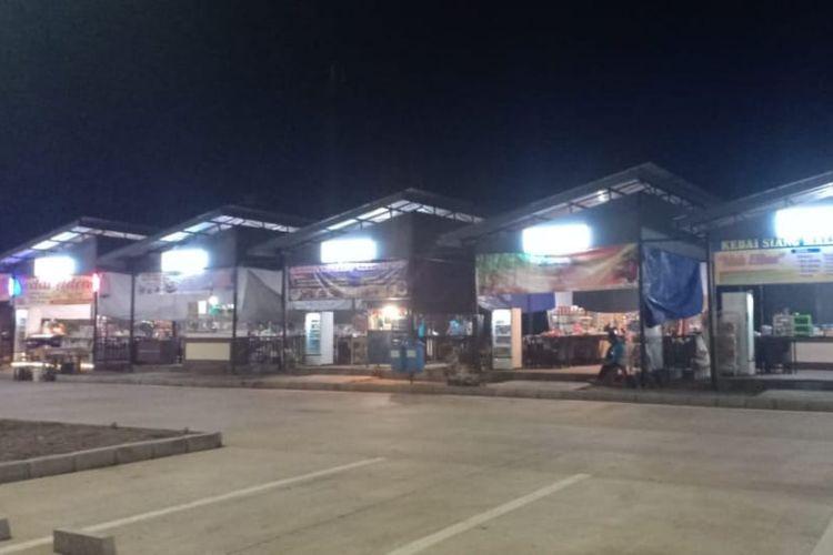 Rest Area di Jalan Tol Trans Jawa