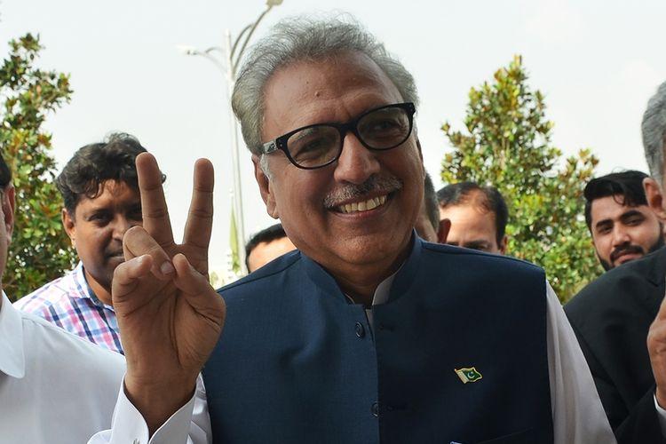 Presiden Pakistan Dr Arif Alvi yang baru saja terpilih dalam Pemilu pada 4 September 2018 lalu.