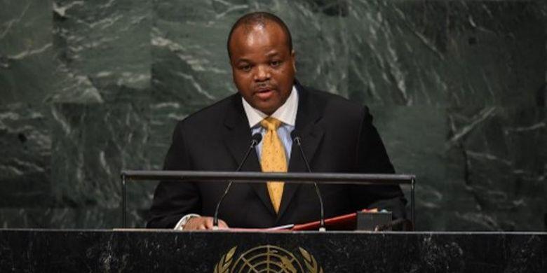 Kepala Negara Swaziland Raja Mswati III (AFP)