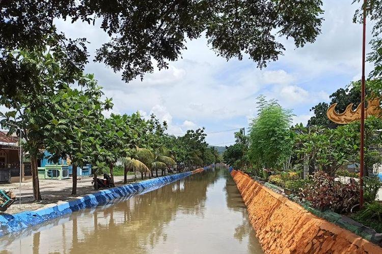 Sungai Sukarame terletak di Jalan Pulau Sebesi, Sukarame, Provinsi Bandar Lampung.