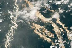 NASA Potret Sungai Emas di Amazon dari Luar Angkasa, Seperti Apa?