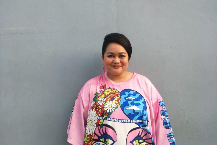 Sinyorita Esperanza saat ditemui di kawasan Tendean, Jakarta Selatan, Jumat (3/1/2019).