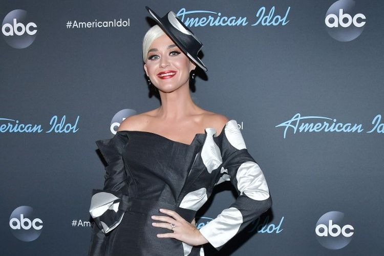 Penyanyi Katy Perry menghadiri malam final American Idol di Los Angeles, California, pada 19 Mei 2019.