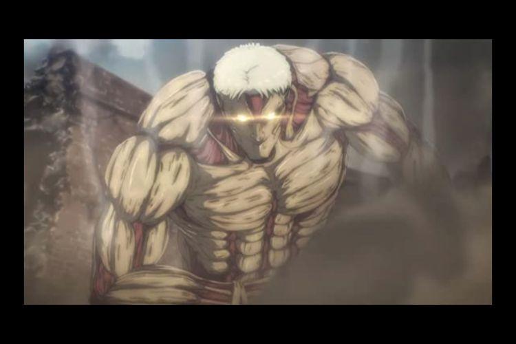 Cuplikan anime Attack on Titan Final Season (2020)