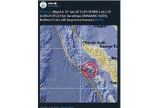 Gempa di Aceh Dirasakan hingga ke Medan