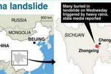 Tanah Longsor di China Akibatkan 9 Orang Tewas dan 62 Hilang
