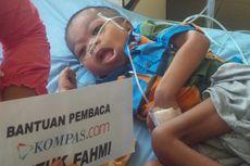 Pengobatan Bocah Fahmi yang Kurus Kering Masih Terkendala Biaya