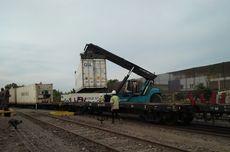 Sempat Terbengkalai, Stasiun Indro Gresik Mulai Difungsikan untuk Kereta Api Barang