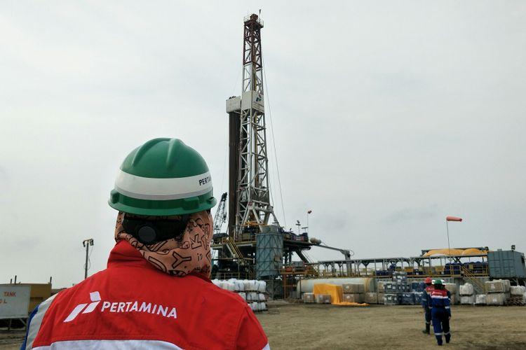 PT Pertamina (Persero) melalui anak usahanya PT Pertamina Drilling Service Indonesia (PDSI) saat ini tengah menggarap salah satu sumur minyak di lapangan Jatiasri-9 (Jas-9) milik PT Pertamina EP, Subang, Jawa Barat.
