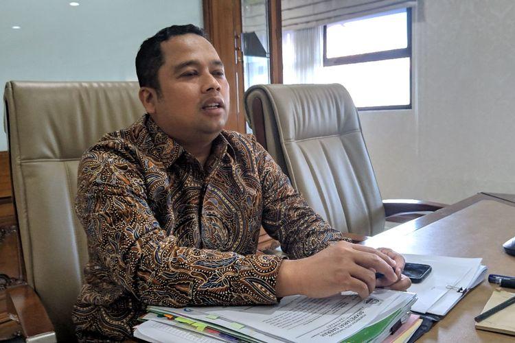 Wali Kota Tangerang Arief Wismansyah saat ditemui di Gedung Pusat Pemerintah Kota Tangerang, Kamis (16/1/2020)