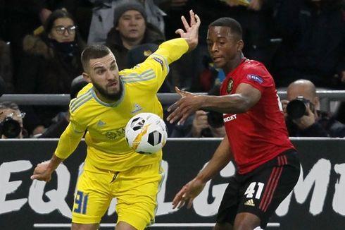 Hasil Astana Vs Manchester United, Setan Merah Kalah