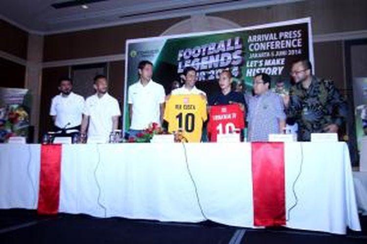 Para pemain legenda dunia yang akan bertanding melawan Indonesia All Star pada laga uji coba bertajuk