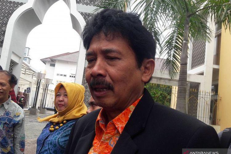 Kepala BPIP, Yudian Wahyudi, saat ditemui di Kompleks Universitas Islam Negeri Sunan Kalijaga, Yogyakarta, Sabtu.