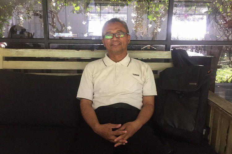 Widjo Kongko, ahli tsunami di Indonesia.